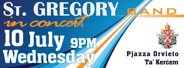 Join the St Gregory Band for their annual musical concert in Kercem