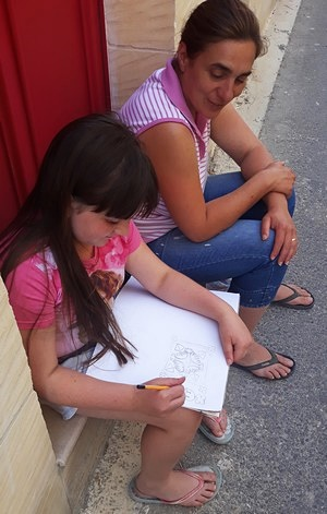 Gharb village hosts art within the community event