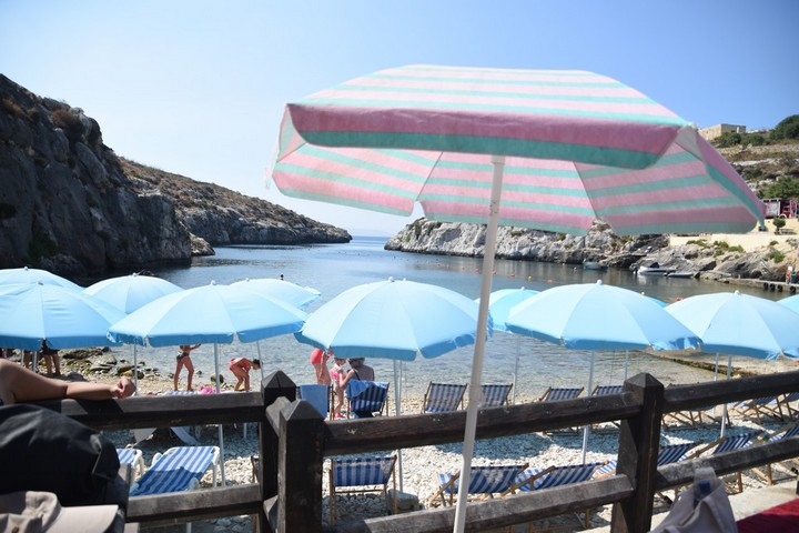Illegal deckchairs and umbrellas seized from Mgarr ix-Xini and Xwejni