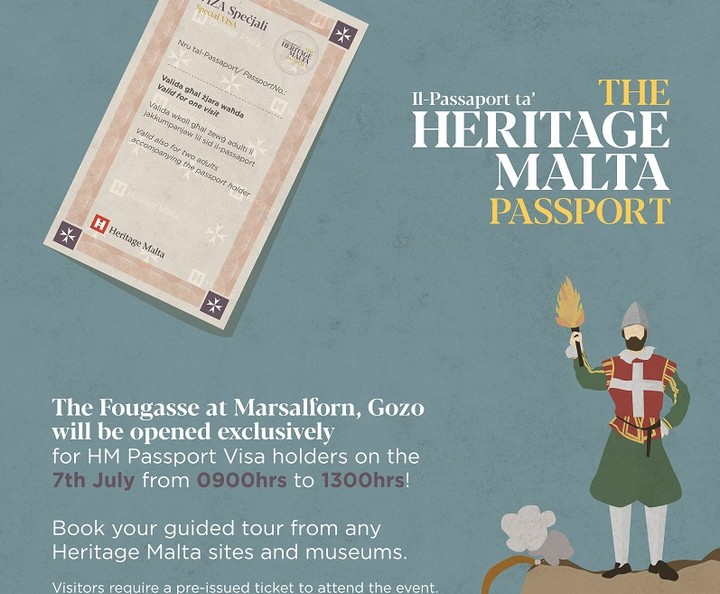 Military Marsalforn Trail for students with Heritage Malta Passport Visa