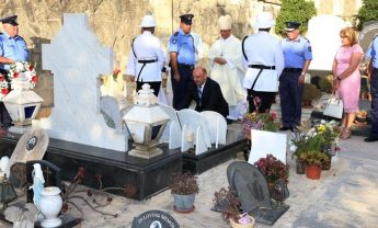 Mass held for deceased members of the Police Force in Gozo