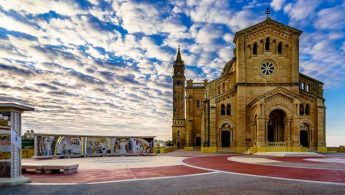 Pontifical Mass at Ta' Pinu National Shrine with the AFM this Tuesday
