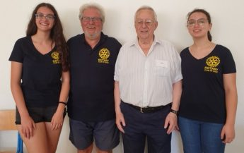 2 students on UK Public Speaking Course through Rotary Club Gozo grant