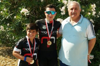 Gozitans cyclists achieve podium positions in time trial championship