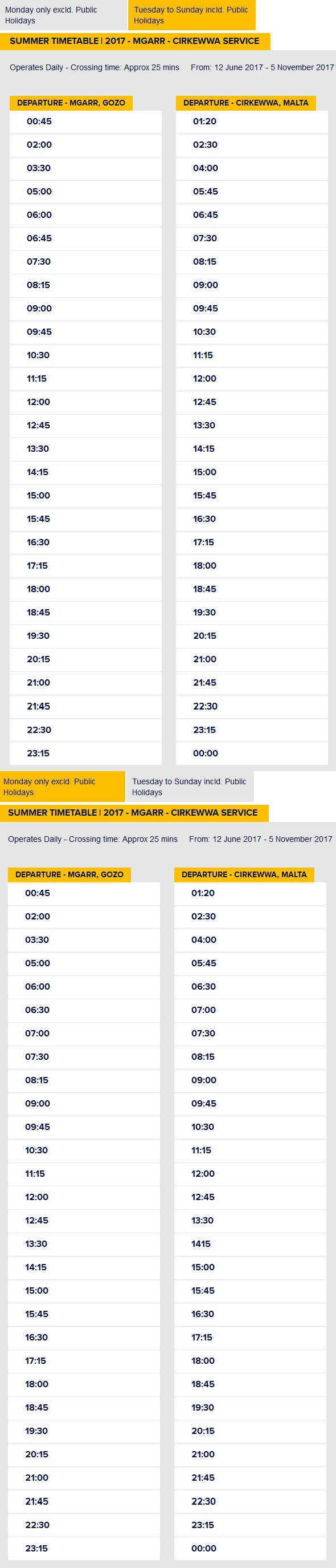 Gozo_Ferry_Summer_Timetable_2016