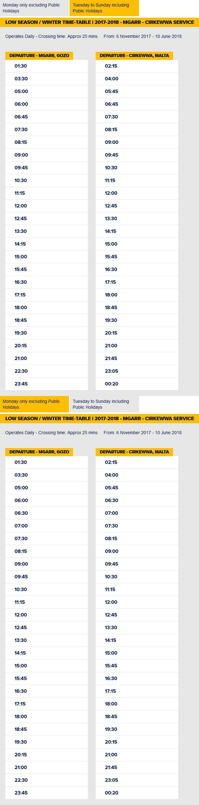 Gozo_Ferry_Winter_Timetable_2017
