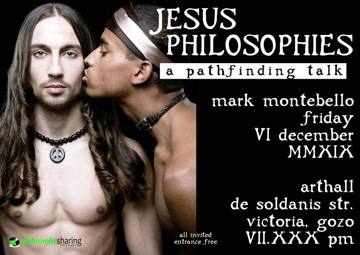 Jesus Philosophies - a pathfinding talk by Dr. Mark Montebello